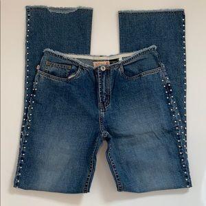 Buffalo y David Bitton Frayed Angelina boot jeans